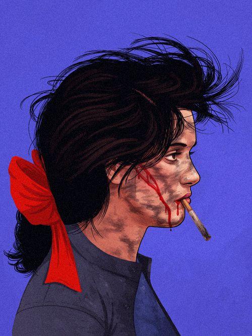 32 ilustrações homenageando personagens da cultura pop