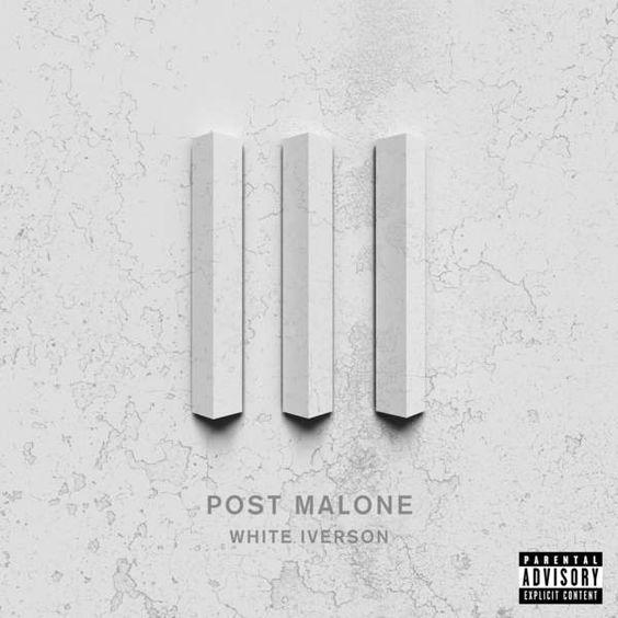 Post Malone – White Iverson (single cover art)