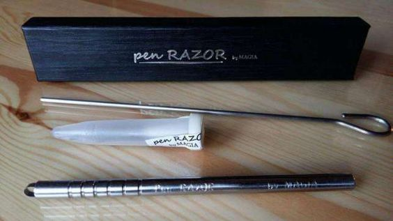 Pen razor by magia hair pinterest pens for Razor pen for hair tattoo