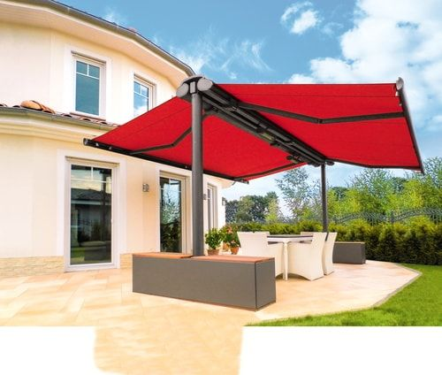5 Different Types Of Awnings To Cover Your Deck Patio Shade Pergola Garden Awning