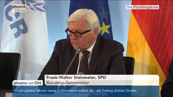 Flüchtlingskrise: Frank-Walter Steinmeier zur europäischen Asylpolitik a...