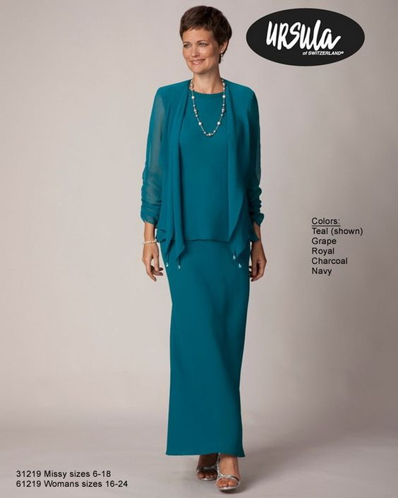 Colors grandmothers and stylish eve on pinterest for Wedding dresses for grandmother of the bride