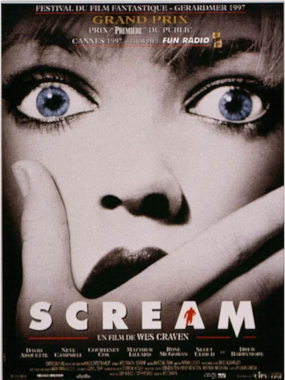 /scream film horreur  658d546c80dc6b90e32b34e1e9472b42