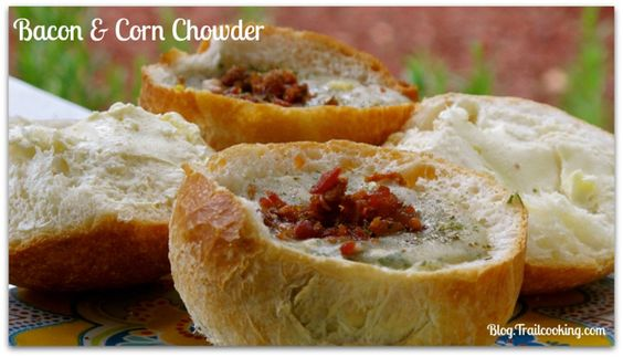 Corn chowder, Chowders and Bacon on Pinterest