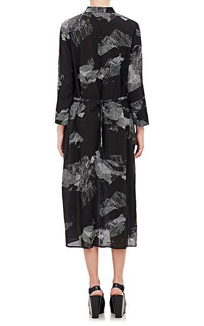Shibori-Print Dress