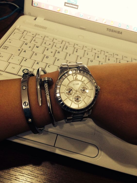 Guess and Cartier combination