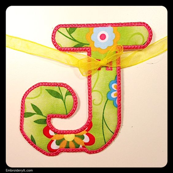J - Embroidery It | Creative Embroidery Designs