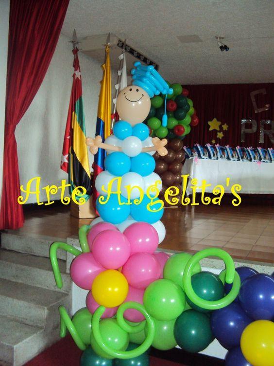 globos para grado