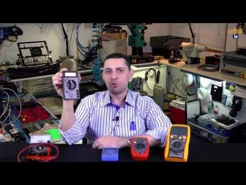 Avometre Veya Multimetre Nedir Nasıl Kullanılır Youtube