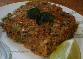 Receita de quibe de berinjela - Mulher Malhada
