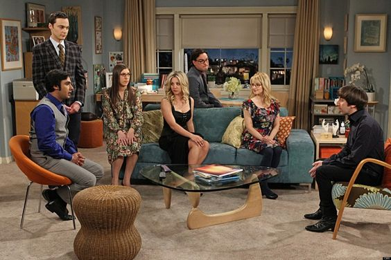 The cast of CBS's hit TV series The Big Bang Theory