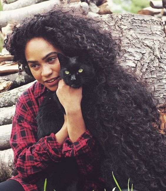 """naturalhairqueens: """"She has some incredible hair. """""""