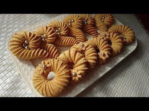 مطبخ أم أسيل حلويات لعيد الأضحى كعك النقاش الجزائري و ڨرن غزال بعجينة هشة تذوب فالفم و طعمها روعة Youtube Chocolate Napkin Rings Recipes