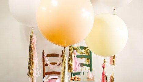 Faça você mesma: Balões de festa diferentes