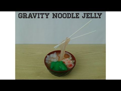 Resep Mie Jelly How To Make Gravity Noodle Jelly Kokikuchallenge Youtube How To Make Noodles Jelly Noodles