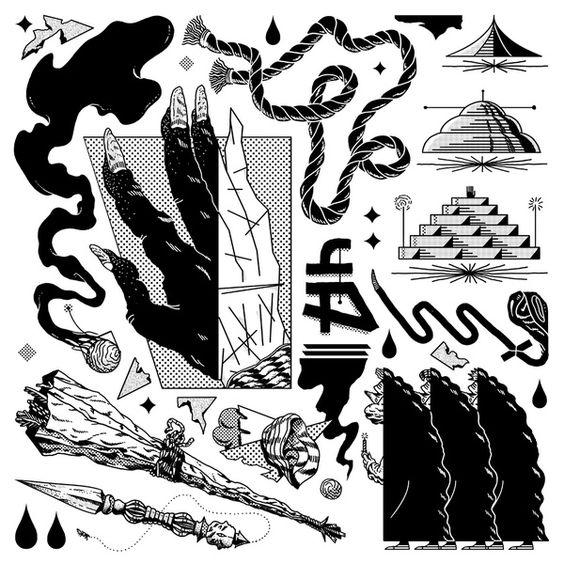 Seance Art Print by Nick Iluzada | Society6