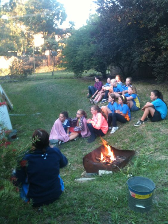Who doesn't love singing campfire songs, even if it doesn't get dark in summer