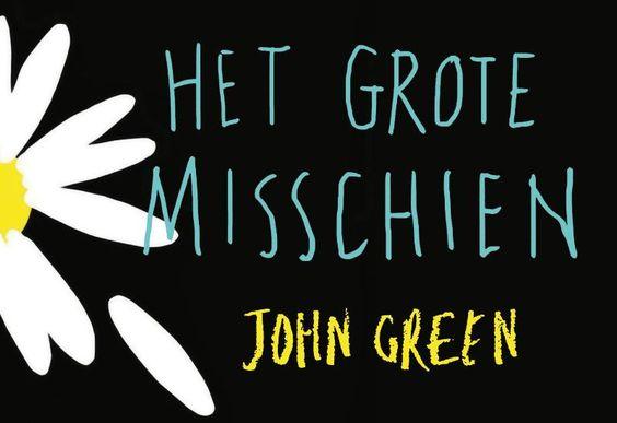 Het grote misschien - John Green, Een debuutroman van een succesvolle auteur
