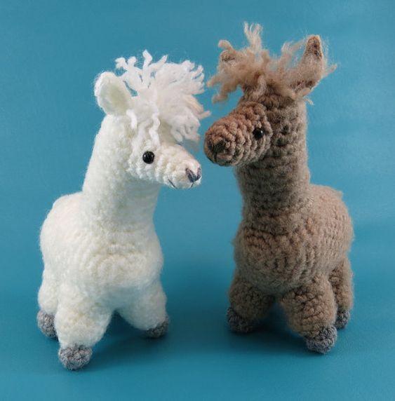 Alpaca Amigurumi Crochet Patterns : Alpaca - PDF amigurumi crochet pattern Amigurumi ...