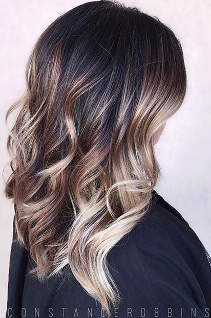 Silver Blonde Highlights And Balayage On Pinterest