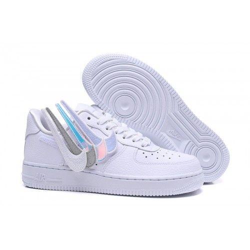 2018 Nike Air Force 1 Swoosh Pack Mens Womens Shoes White Online Sale Nike Air Force Nike Air Force Ones Nike Air
