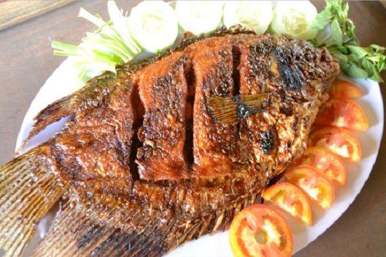 Resep Ikan Nila Bakar Bumbu Kuning Pedas Resep Masakan Memasak Resep Ikan