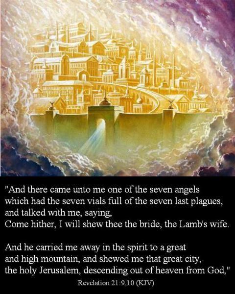Revelation 21 9 10 Revelation Bible Study Revelation Bible Revelations Quotes