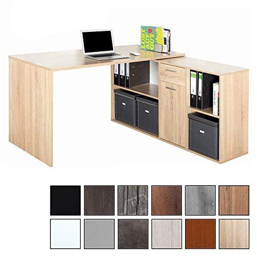 Beschreibung Dieser Eck Schreibtisch Im Modern Design Unterstutzt Mehrere L Formige Winkel Kombinationen Oder K Eckschreibtisch Schreibtisch Buro Schreibtisch