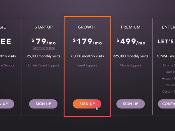 responsive css price template price plans Pinterest Pricing - the resumator