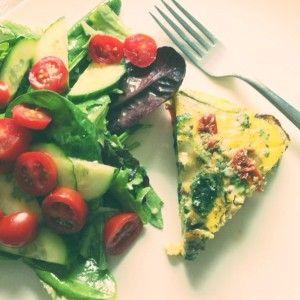 Health benefits of protein and Naked Garden Crustless Quiche recipe - Holistic Nutritionist Heather Allen