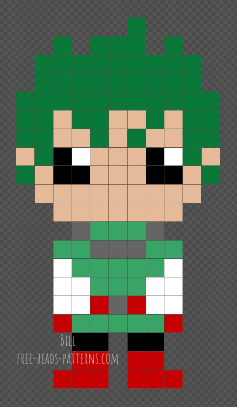 Mha Perler Pixel Art Grid Pixel Art Pattern Perler Patterns Creating your first isometric cube. mha perler pixel art grid pixel art