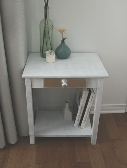 Diy Comment J Ai Sauv Des Poubelles Une Table De Chevet Comment Diy And Crafts And Tables