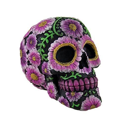 Mexican Day Of The Dead Ceramic Skull Sugar Skull Dia De Los Muertos Style Original Art Custom Painted Sugar Skull Painting Skull Painting Sugar Skull Art