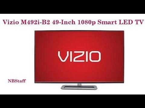 Vizio M492i-B2 49-Inch 1080p Smart LED TV - Top Rated Vizio M Series