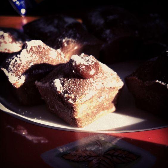 Mini coulants de chocolate #coulant #chocolate