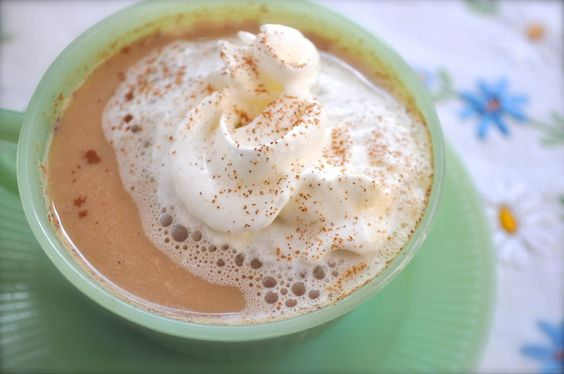 Best Ever Vanilla Chai Mix- Tastes like a perfectly baked gingerbread cookie dipped into a perfectly made coffee. Mama and I have both got to drinking it more than we do actual coffee!
