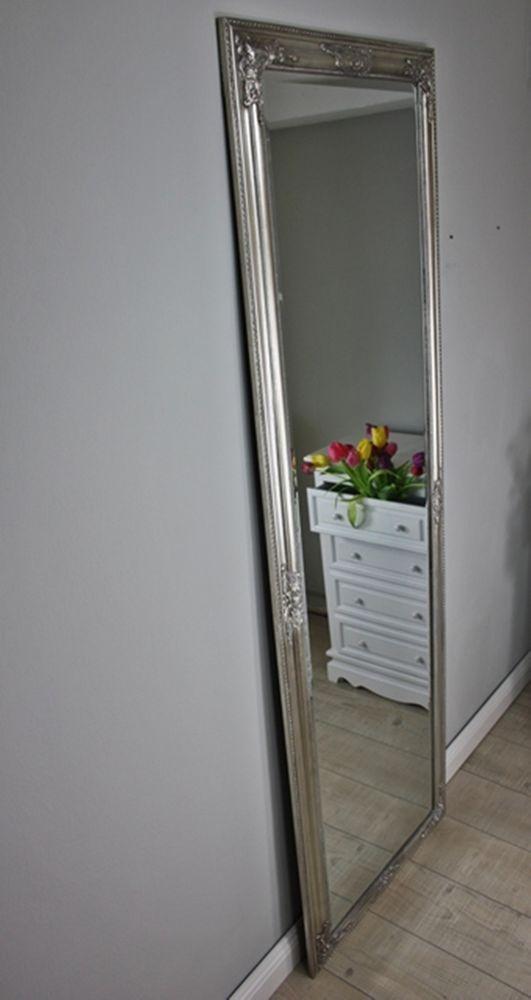 Spiegel Barockspiegel Barock Silber Wandspiegel Badspiegel