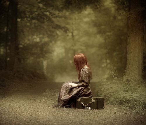 """All I need now is a destination""  Patty Maher  Flickr"