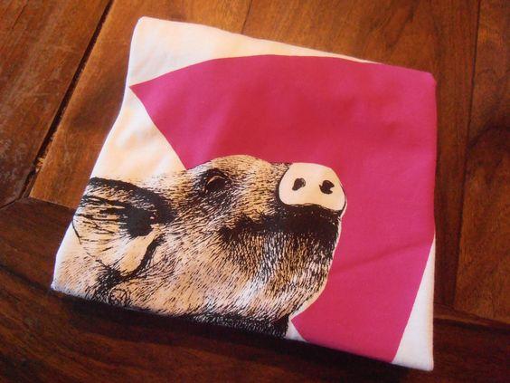 Per realizzare questa t-shirt non è stato maltrattato nessun maiale (presto in shop!)