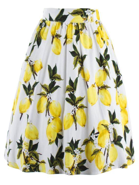 Cool White Skirt