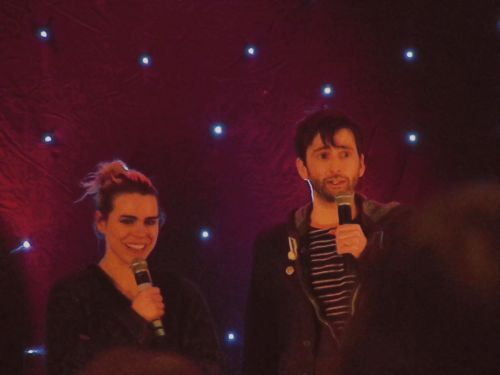 David Tennant and Billie Piper - Midnight Convention - 12.16.2012.