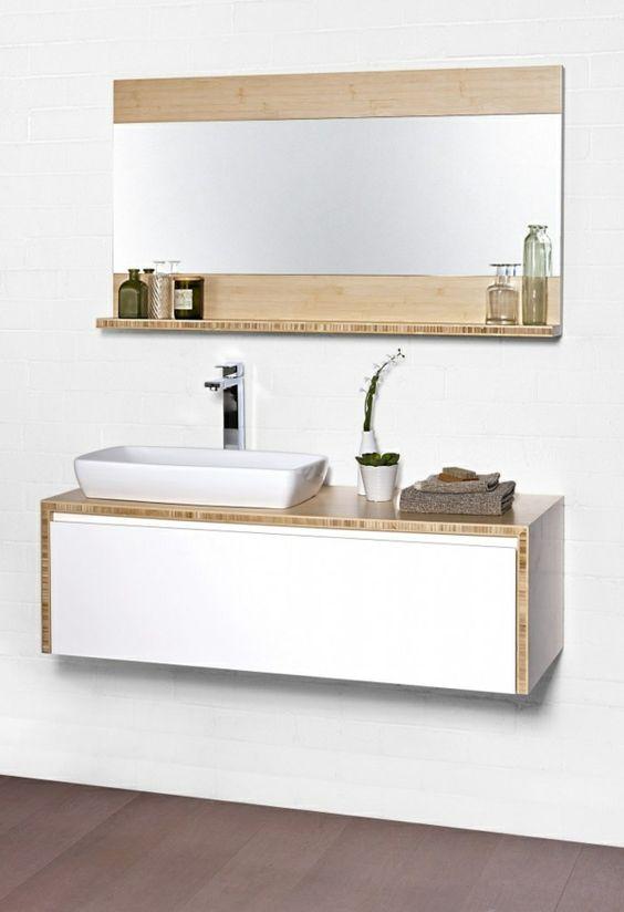holz badmöbel badeinrichtung asiatischer stil waschbecken ...