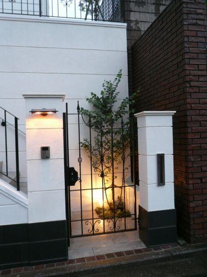 門扉まわり 外灯 コーディネート例