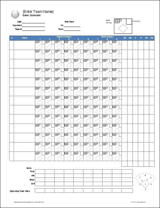 Download A Free Baseball Roster Template For Excel Featuring A Baseball Lineup Sheet With Auto Rotation An Baseball Lineup Baseball Scores Baseball Scoreboard