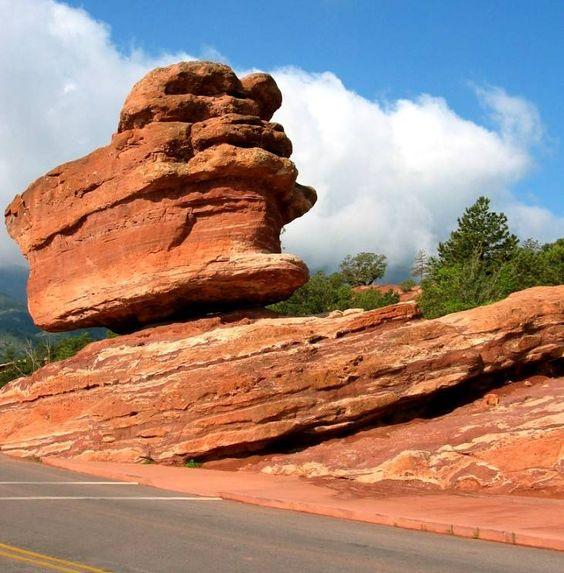 Garden of the Gods (Balanced Rock) -- Colorado Springs, CO: