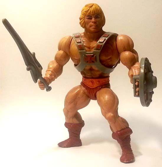He-Man, il capostipite dei Masters, arrivato in Italia nel 1983 #Miniatures #Figures #Motu #Mattel #MastersOfTheUniverse #HeMan