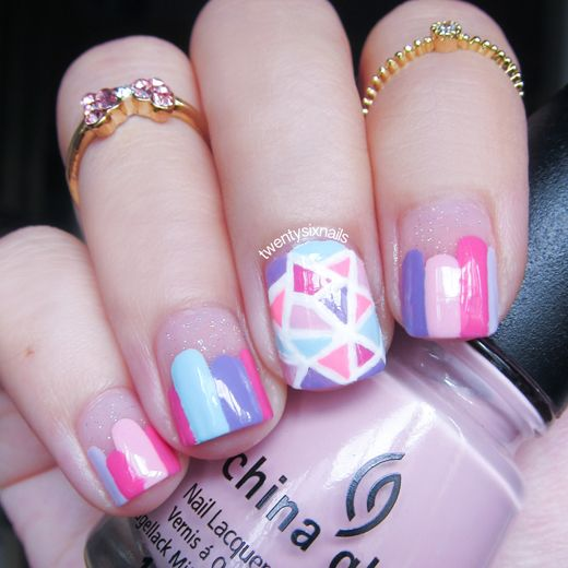 chinese new year nails, chinese new year nail art, cny nails, cny nail art,  chinese new year 2015, cny 2015 | My Nail Art (Twentysixnails) | Pinterest  ... - Chinese New Year Nails, Chinese New Year Nail Art, Cny Nails, Cny