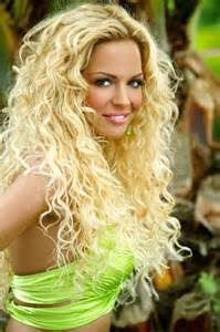 Enjoyable Curly Blonde Extensions And Blondes On Pinterest Short Hairstyles For Black Women Fulllsitofus