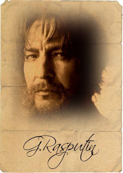 "1996 - Alan Rickman in ""Rasputin"":"