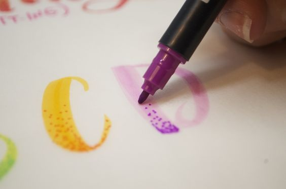 Tombow Techniques: 3 MORE Unique Effects — KILEY IN KENTUCKY